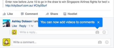 video respuestas facebook