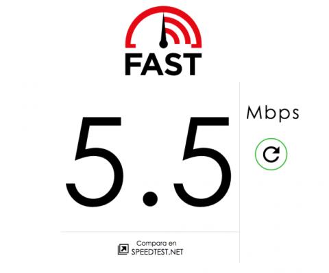 Fast.com, herramienta de Netflix para medir la velocidad de conexión a Internet