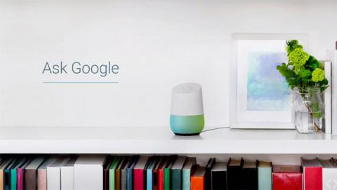Google Home, el asistente virtual que competirá con Amazon Echo