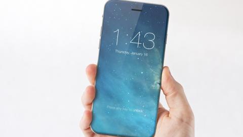 El iPhone 7 podría contar con una pantalla sin marcos