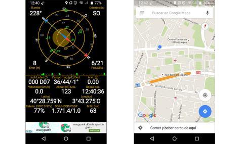 GPS del tp link neffos C5