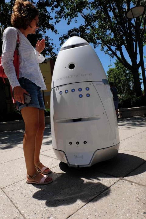 robot policía Knightscope