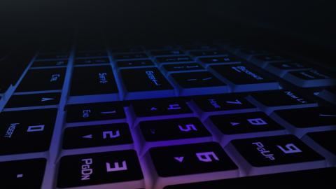 Nuevo portátil Asus ROG teclado
