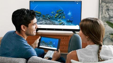 yomvi chromecast, google cast yomvi, ver yomvi televisor