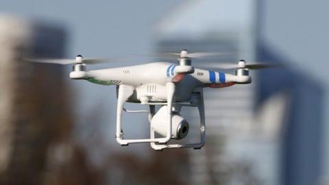 Un dron pone en peligro un vuelo de Lufthansa
