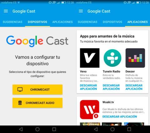 App Google Cast