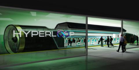 Prototipo de Hyperloop, el transporte del futuro