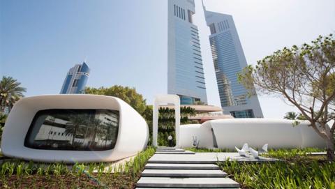 Dubai construye un edificio de oficinas con una impresora 3D