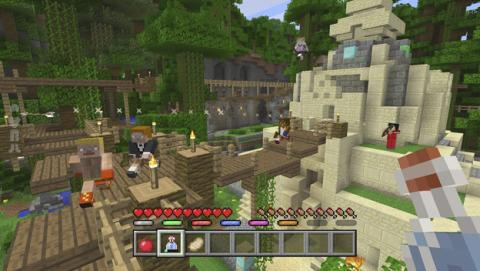 Minijuegos Minecraft para la versión de consolas