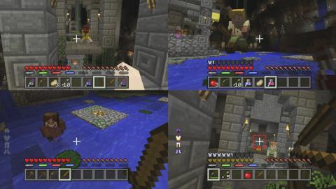Modo multijugador local de Minecraft