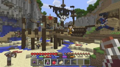 Nuevo mapa del Minecraft para consolas