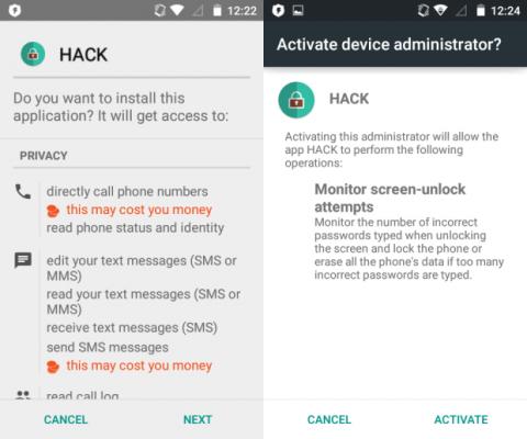HACK malware