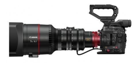 Nueva cámara de vídeo Canon de alta resolución