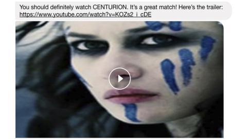Chatbot de Facebook que recomienda películas