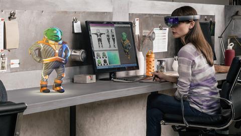 Hololens recibe su primera actualización llena de novedades