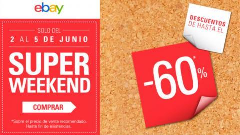 Vuelve el Superweekend de eBay con las mejores ofertas