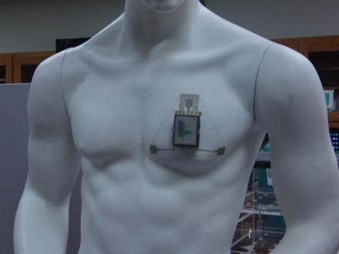 Parche para el asma