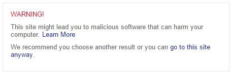 malware bing