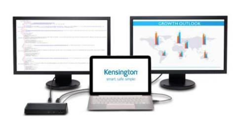Kensington SD 3600 te permitirá ajustar fácilmente la configuración de varios monitores desde tu portátil, permitiéndote reflejar la pantalla de portátil en los monitores externos.