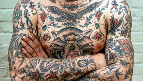 Identificación tatuaje FBI