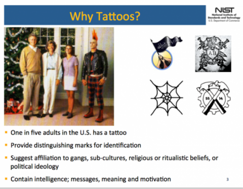 FBI tatuajes
