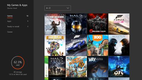 Actualización Xbox One