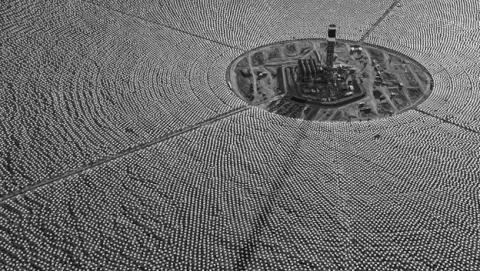 Planta de energía solar más grande del mundo