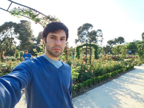 Sony Xperia X selfie a contraluz