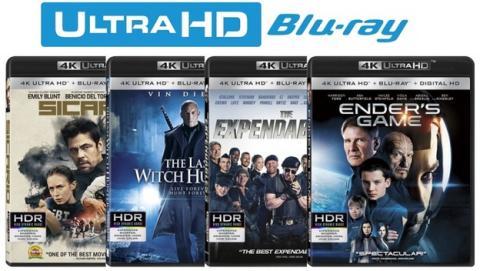 Blu-ray 4K Ultra HD, todo lo que debes saber