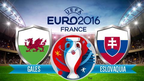 Eslovaquia vs Gales de la Eurocopa 2016