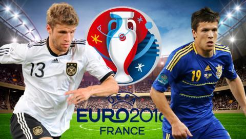 Cómo ver online y en directo el Alemania vs Ucrania