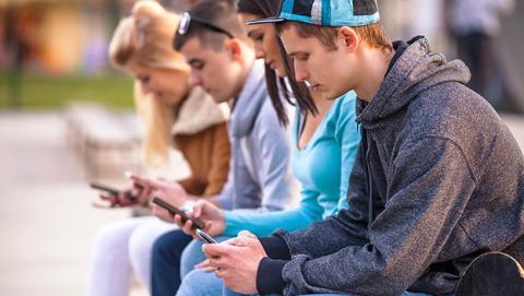 Dependencia del teléfono móvil