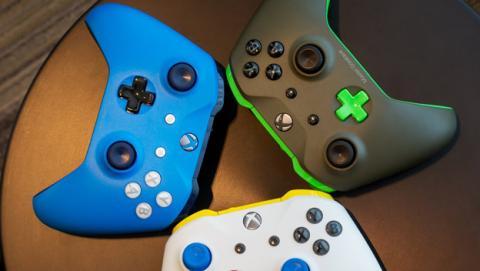 Personaliza tu mando de Xbox One con los colores que quieras
