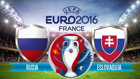 Rusia vs Eslovaquia