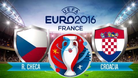 Ver online en Internet República Checa vs Croacia Eurocopa gratis