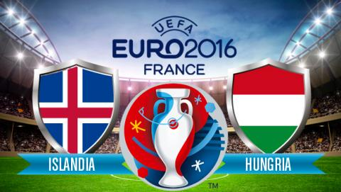 Islandia Hungria Eurocopa en directo por Internet