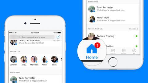 Facebook reinventa la Home