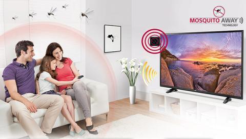 Televisión de LG que repele mosquitos