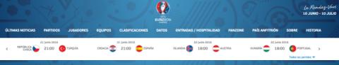 ver hungria portugal de la eurocopa gratis