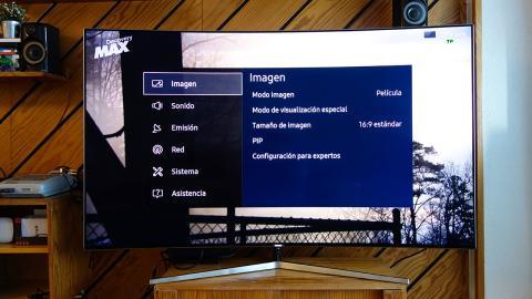 samsung ks9000 modos de imagen