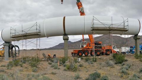Hyperloop sueña con conectar continentes