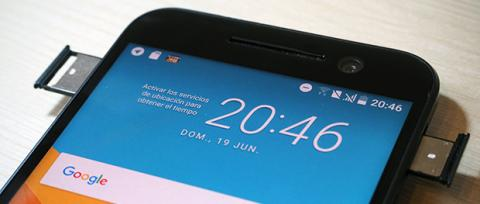 Ranura SIM HTC 10