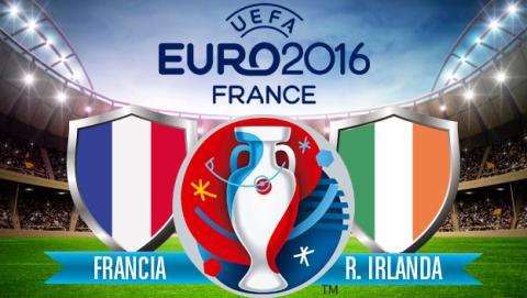 Cómo ver online y en directo el Francia vs Irlanda de la Eurocopa 2016