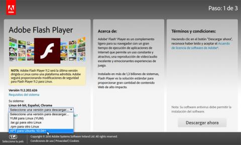 Web Adobe Flash