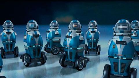 robot vigilante seguridad