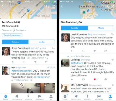 geolocalización twitter