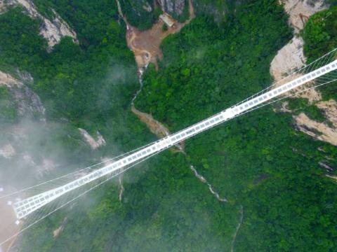 puente chino cristal