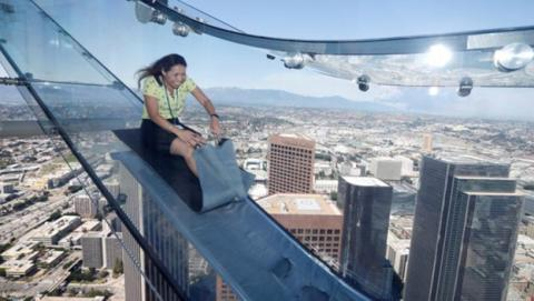 Tobogán de cristal los Angeles
