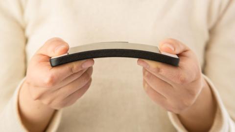 pantallas flexibles grafeno