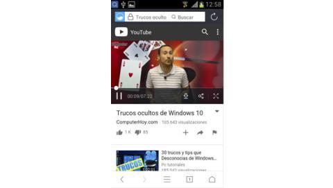 trucos ocultos UC Browser
